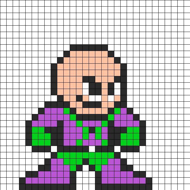 Drawn pixel art super man Luthor images bit Pinterest Villian