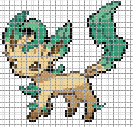 Drawn pixel art template hard pokemon Google Pin google Pinterest sableye