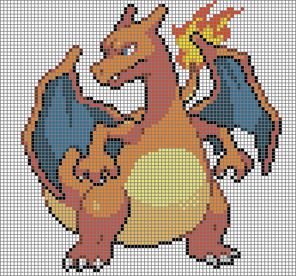 Drawn pixel art template hard pokemon Templates minecraft pokemon minecraft Minecraft
