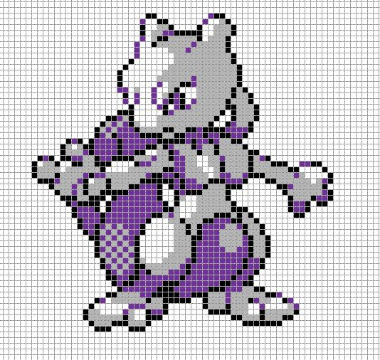 Drawn pixel art template hard pokemon @deviantART Art art Pokémon deviantart
