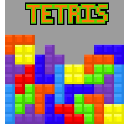 Drawn pixel art tetris Pixel TETRIS art piq someone