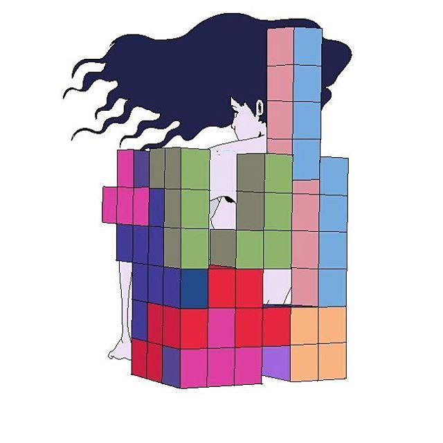Drawn pixel art tetris Some  A make Tetris