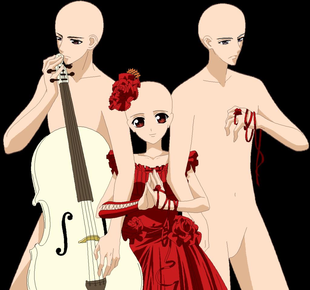 Drawn pixel art vampire knight Request: Piku DeviantArt dress