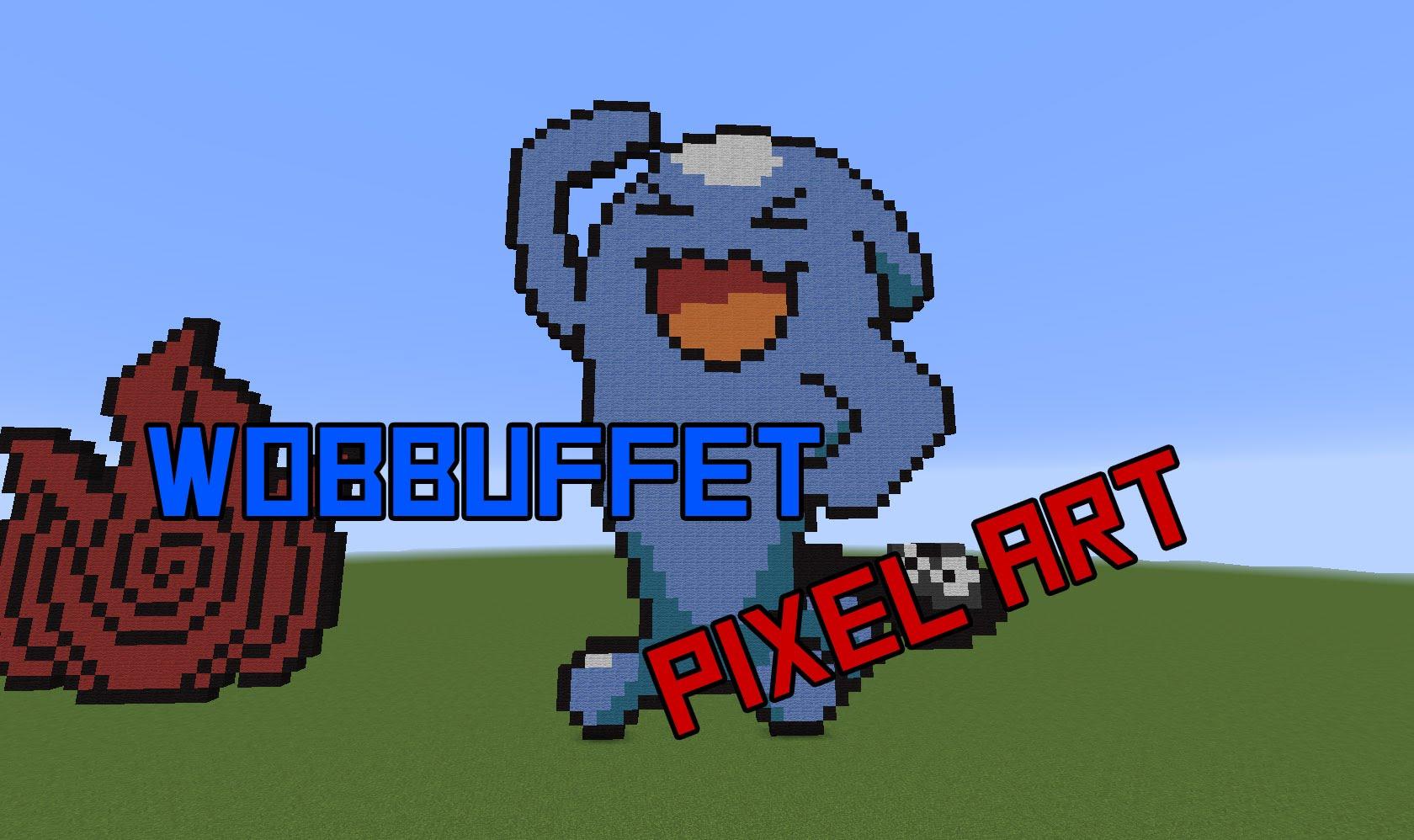 Drawn pixel art wobbuffet Art Art Pixel Speed YouTube