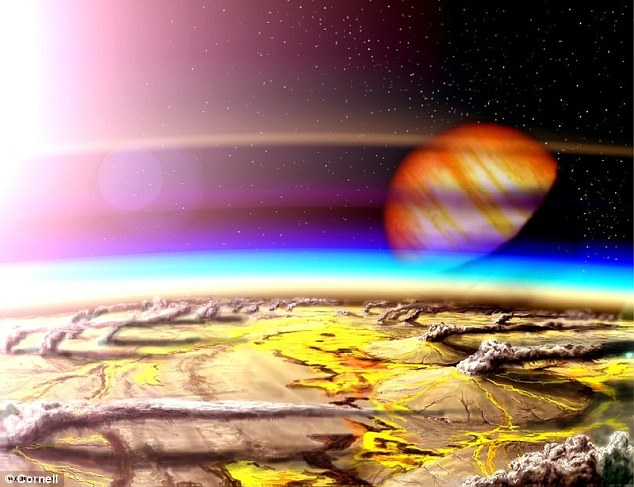 Drawn planet barren The explore Could the host