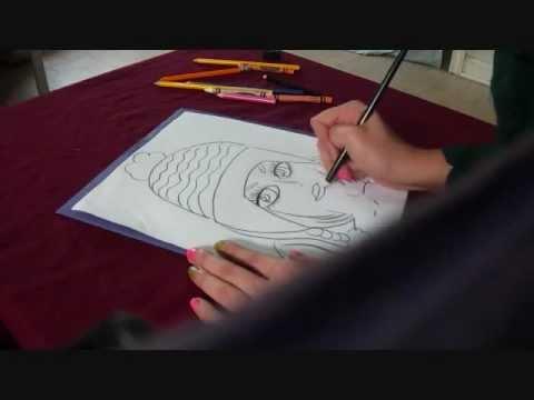 Drawn planet person #3