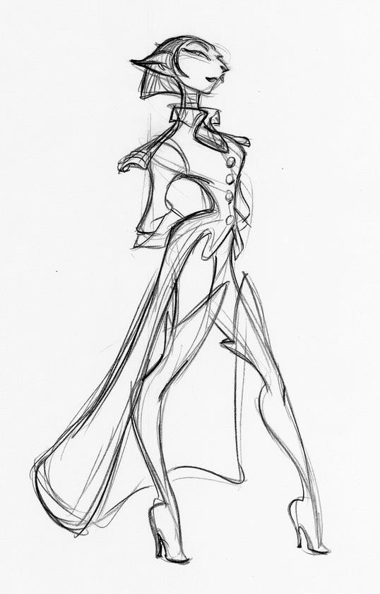 Drawn planet person #4