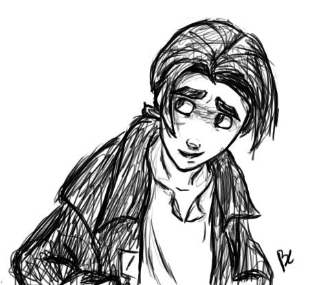 Drawn planet person #13