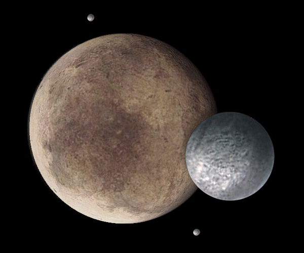 Drawn planet pluto planet & considered Interesting that of