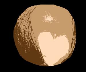 Drawn planet pluto planet Pluto on dwarf planet Pluto