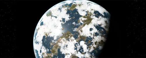Drawn planet realistic Space Planet Photo For