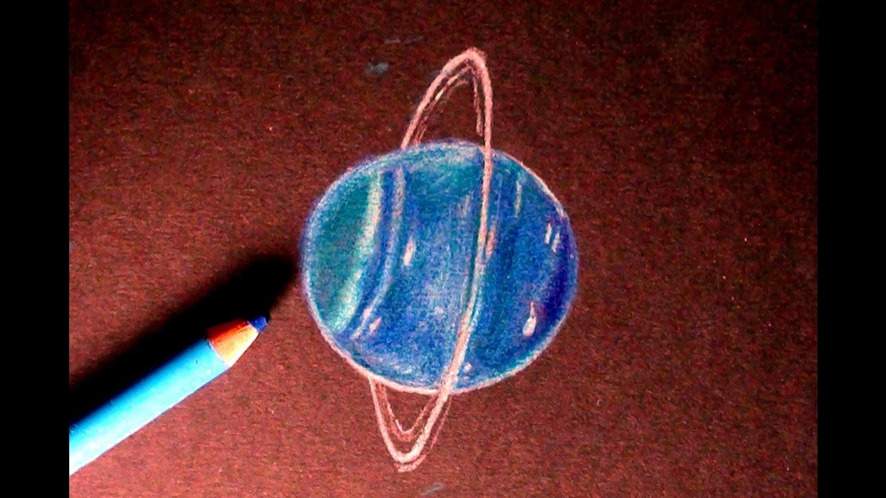 Drawn planet uranus planet URANUS Speedpaint Drawing draw How