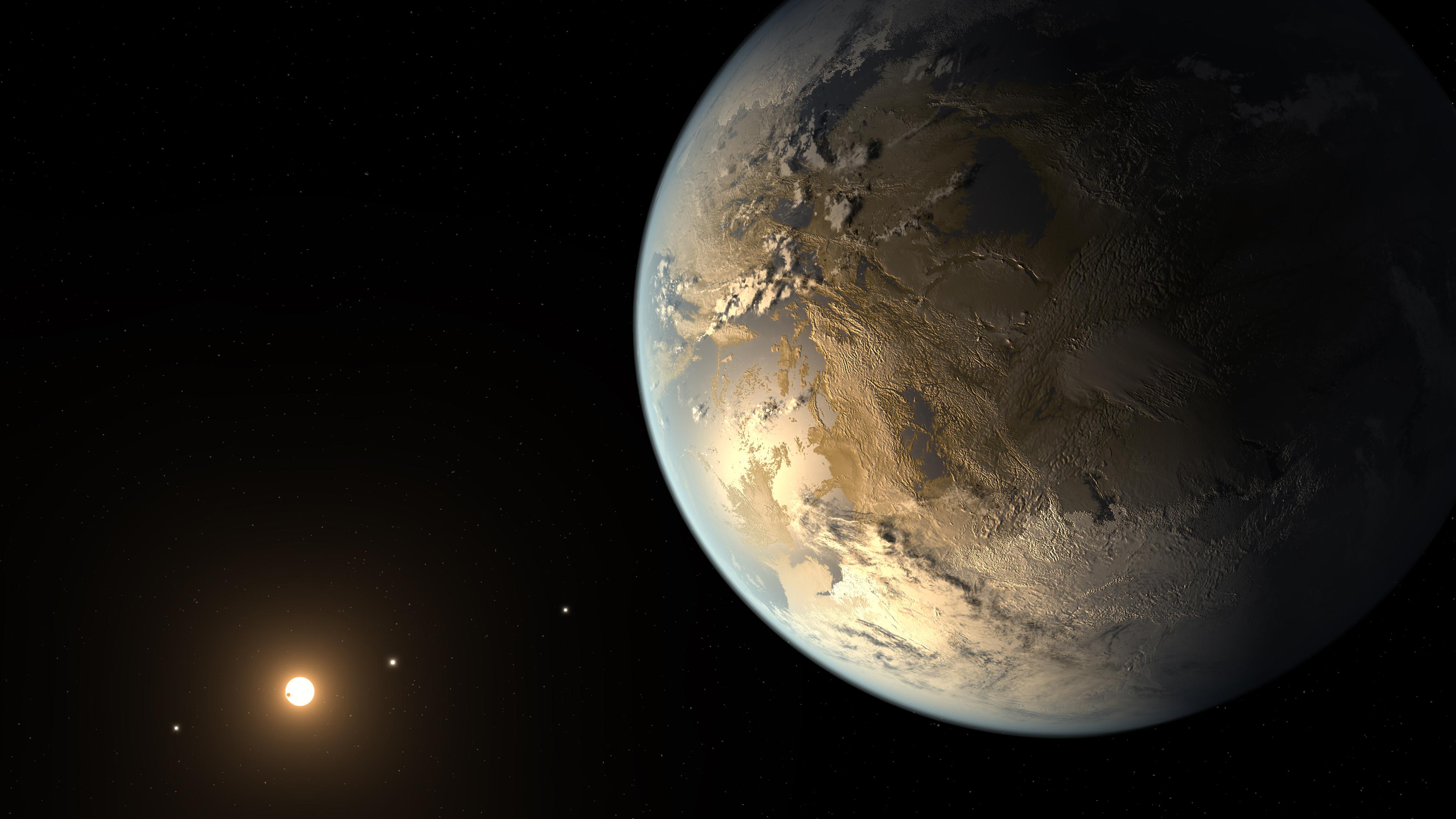Drawn planets barren In planet habitable Kepler the