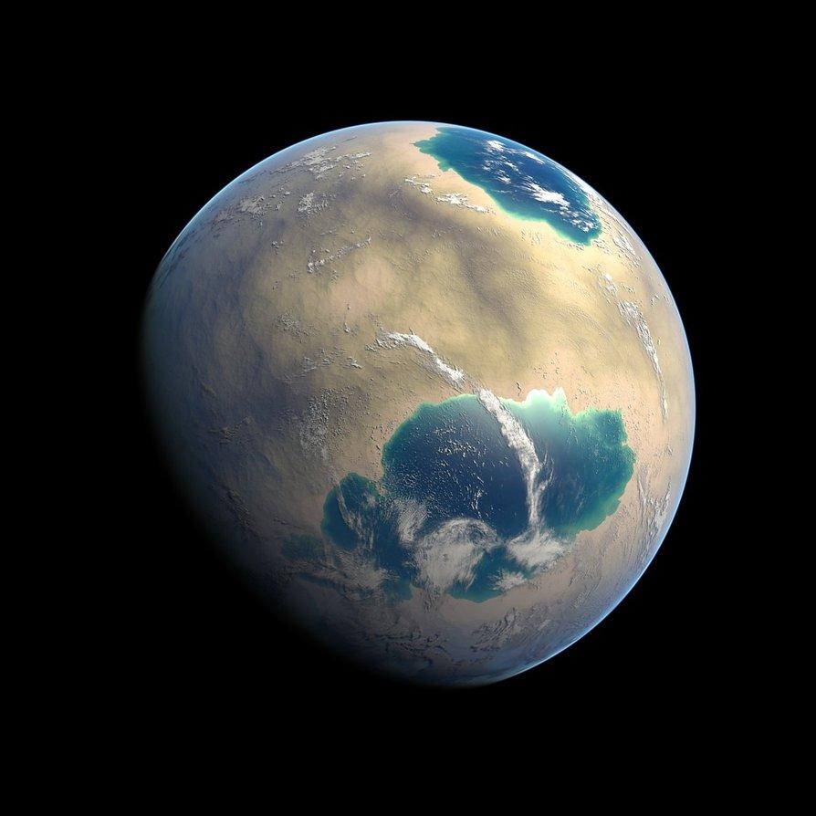 Drawn planets barren DCkiq by DeviantArt by on