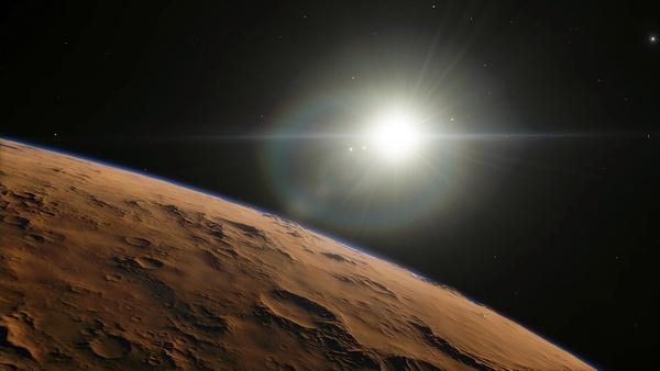 Drawn planets barren Photo photo Space Stock sun