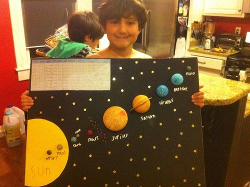 Drawn planets clay Fabulous System – Seyam's Solar