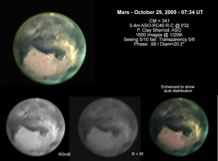 Drawn planets clay  Arkansas the Planet Mars2005