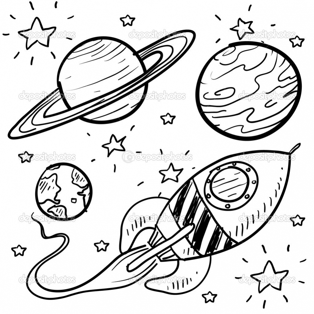 Drawn planets cute cartoon Book Coloring guides travel Posts