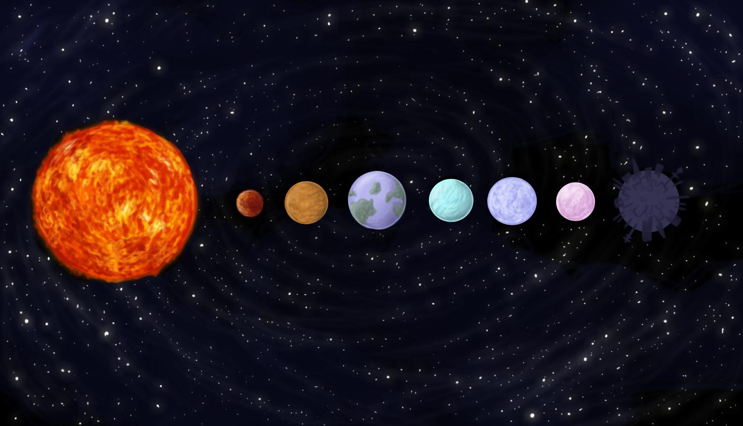 Drawn planets easy Solar Planets Tumblr Dr System