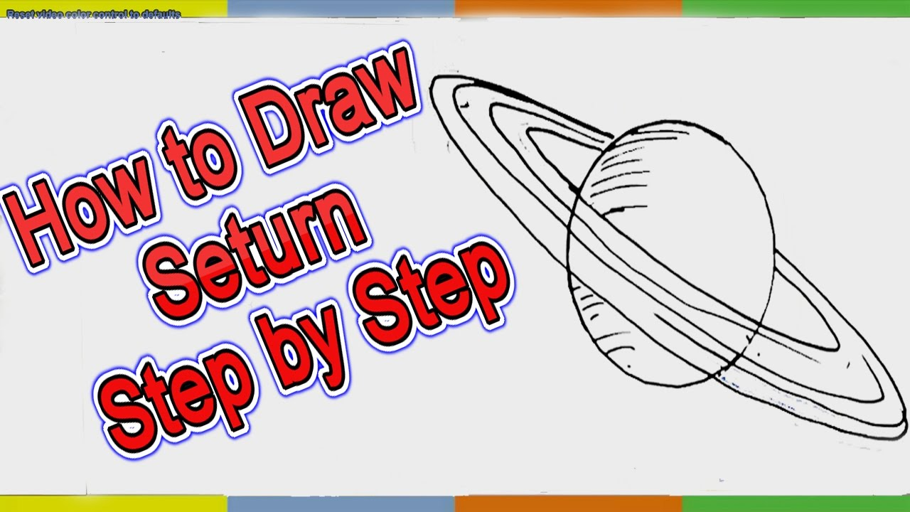 Drawn planets easy How How YouTube Easy to
