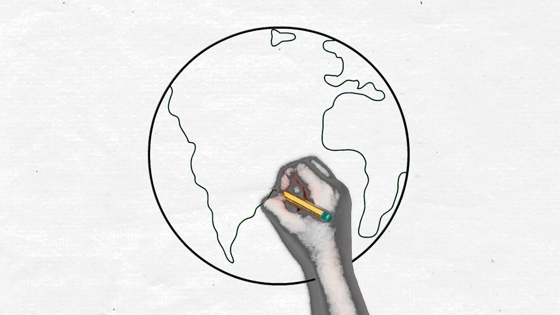 Drawn planets easy Earth Drawing for kids Earth