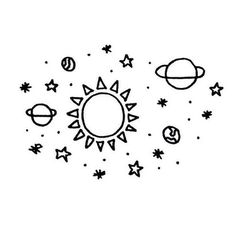 Drawn planets easy ᴡᴇ Planet and other planets