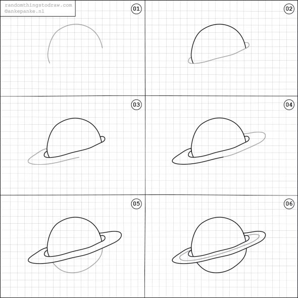 Drawn planets easy How Planet on a Best