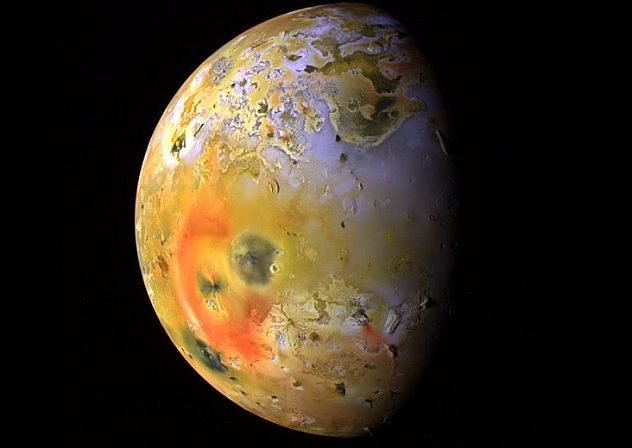 Drawn planets fire and ice More Solar System best on