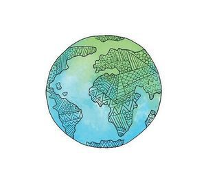 Drawn planets global Imagen best and maps blue