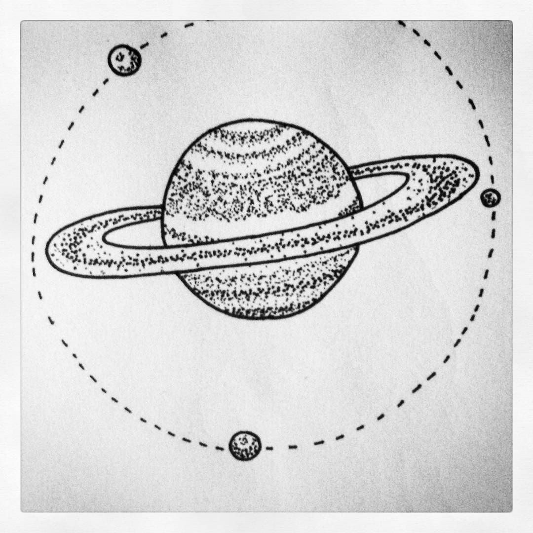 Drawn planets illustration And please you A com