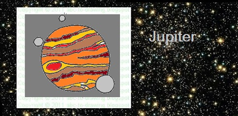 Drawn planets jupiter Drawing: our Jupiter To for