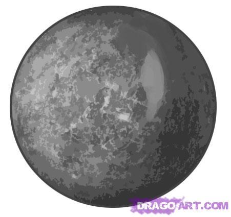 Drawn planets mercury Step Landmarks Mercury & Step