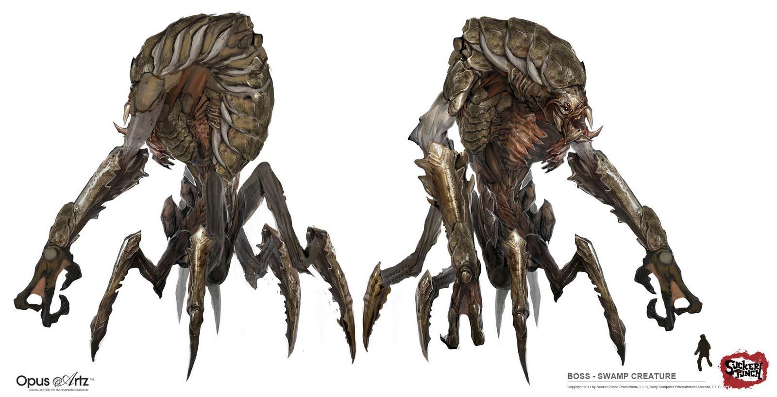 Drawn planets monster Art Concept Creatures Creatures Planet