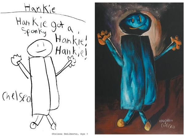 Drawn planets monster Children's The  engine1 monster