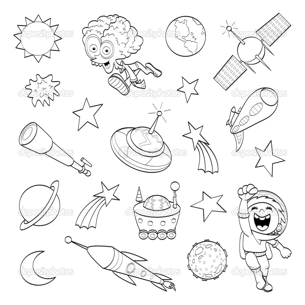 Drawn planets outer space About Space Outer  4