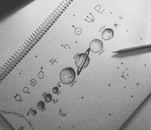 Drawn planets pencil drawing Love draw provocative art sketch