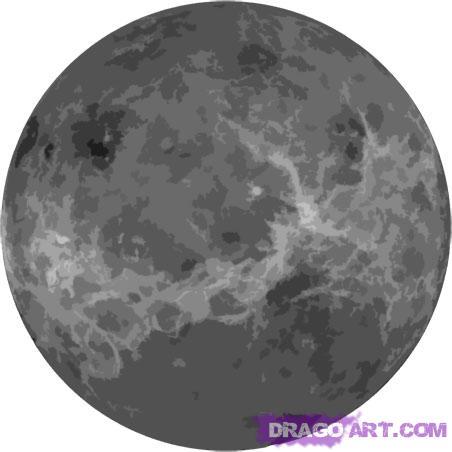 Drawn planets pencil drawing 5 Venus draw Draw Places