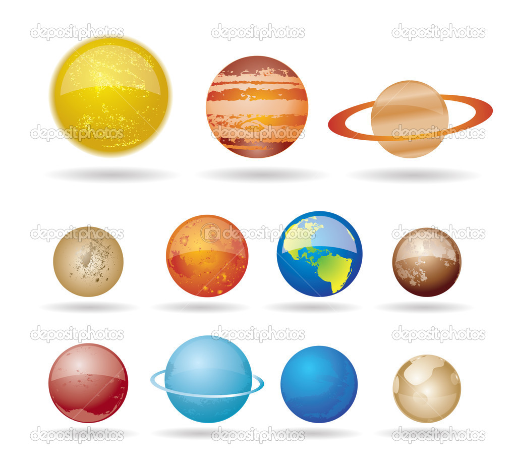 Drawn planets printable And Planets And Printable System