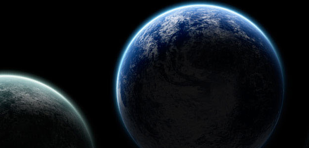 Drawn planet realistic How Photoshop How Simply Realistic