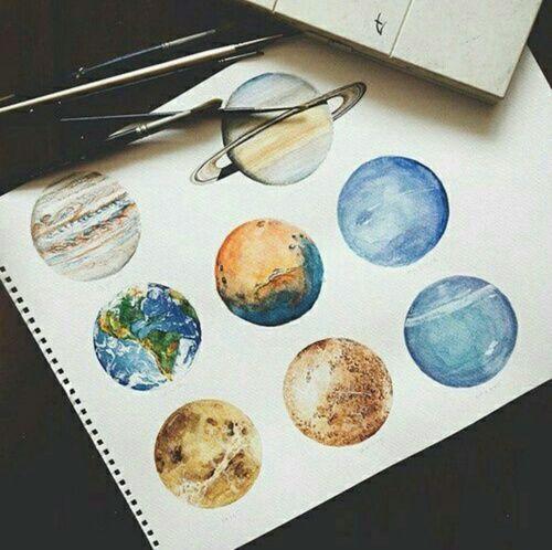 Drawn planet realistic Drawing Art art 25+ drawing