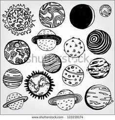 Drawn planets rocket ship Google Pin Поиск Pinterest Кэйт