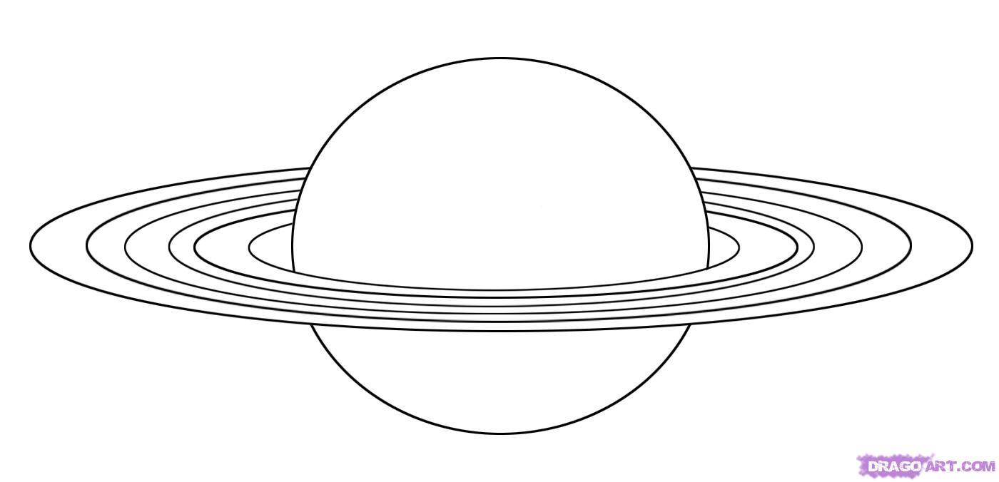 Drawn planets saturn How Landmarks  7 &