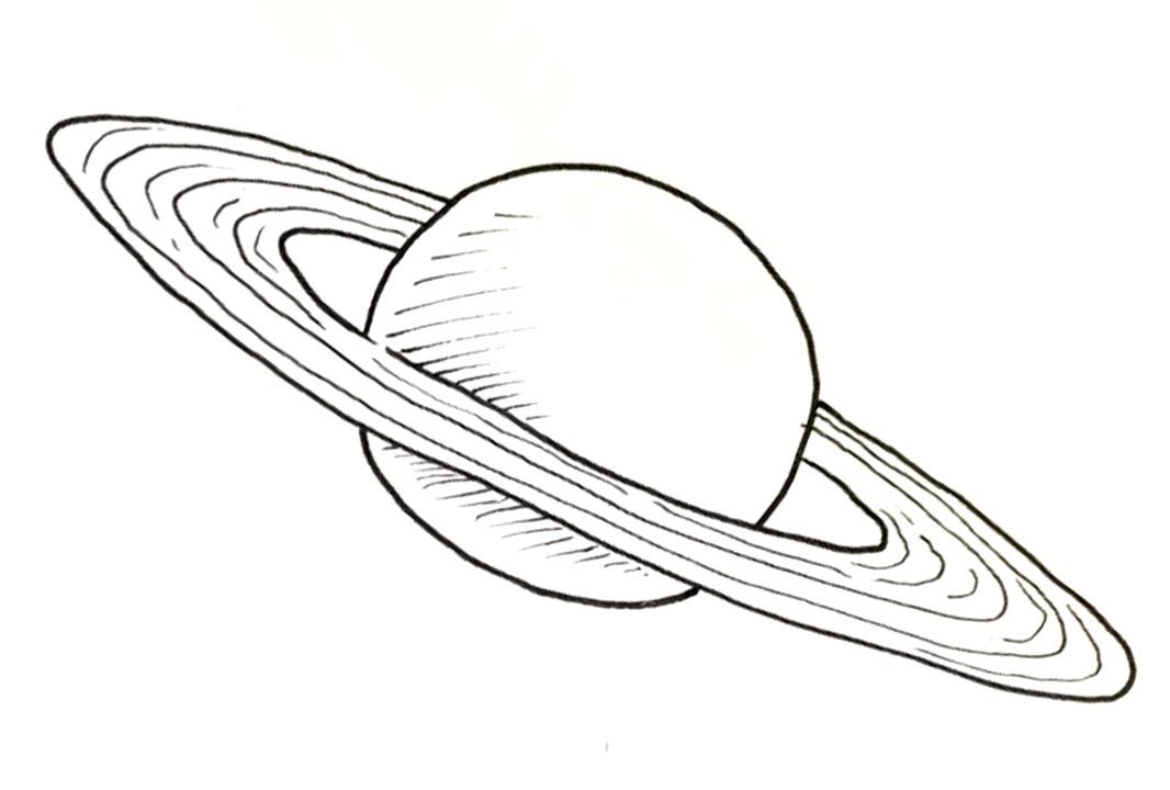 Drawn planets saturn Draw Rayner Author – Saturn
