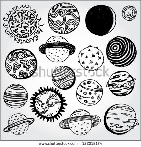 Drawn planets sketch Best planet Поиск тату drawing