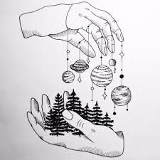 Drawn planets sketch Pinterest The best ideas 25+