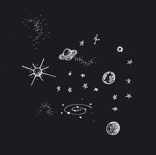 Drawn stars tumblr transparent Universe inclinations  cosmic Drawings