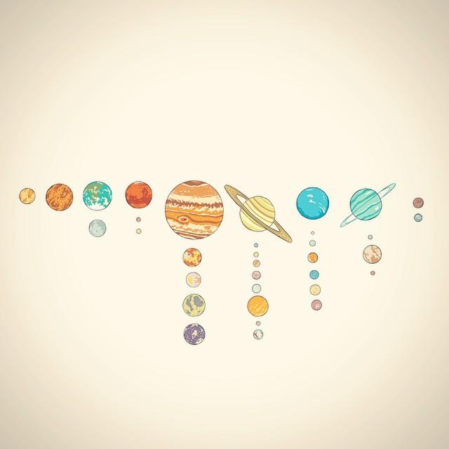 Drawn planet arm tumblr #4