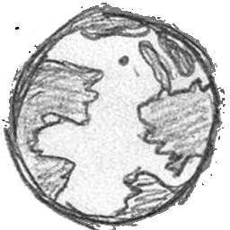 Drawn planets transparent Handdrawn  world Icon
