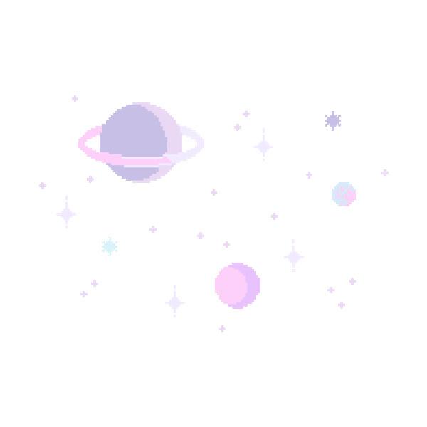 Drawn star transparent pixel Tumblr  backgrounds pixel fillers