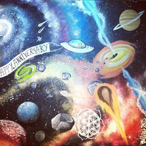 Drawn planets trippy A ButtonzisBeast videos I #
